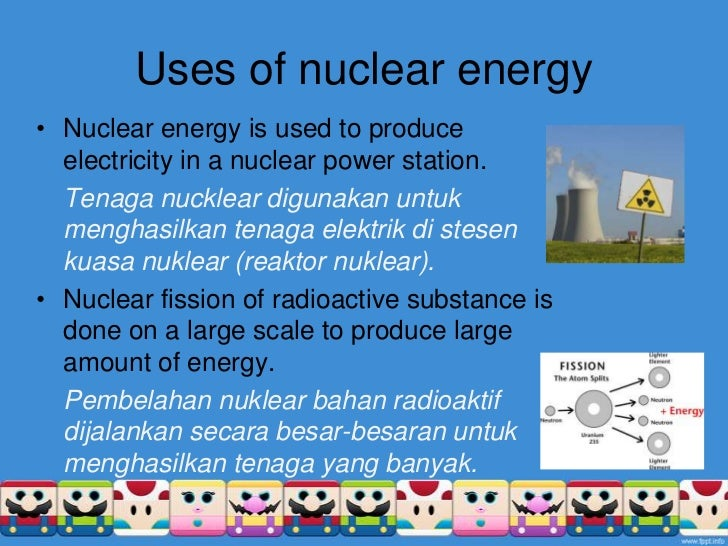 the description of uranium and its use in nuclear energy production Here is a rundown on the main advantages of nuclear energy: reliable nuclear reactors the production of nuclear energy (uranium) what is nuclear energy and.