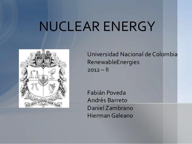 Nuclear energy (1)