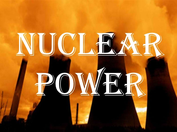 How to write a paper on nuclear energy