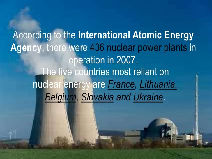 nuclear energy disasters essay
