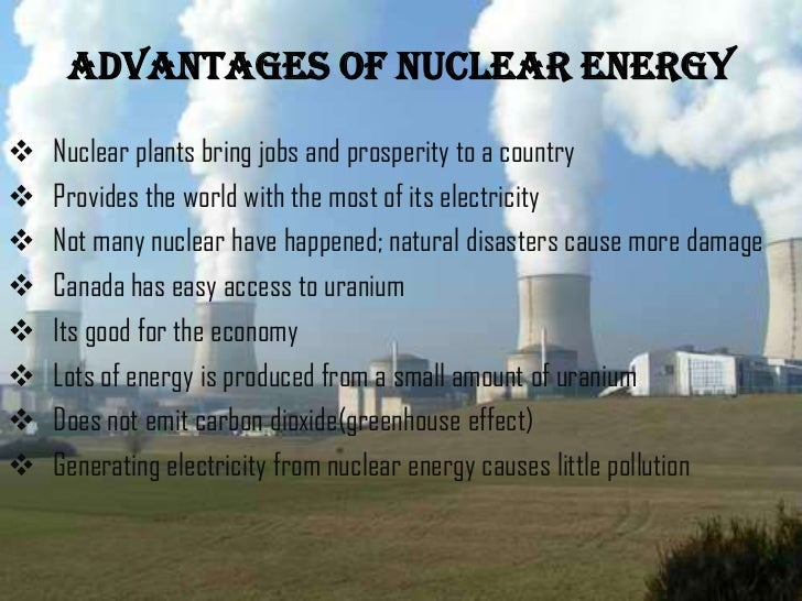 energy essay nuclear use Nuclear energy is an efficient way to reduce the amount of co2 in the environment nuclear energy sa.