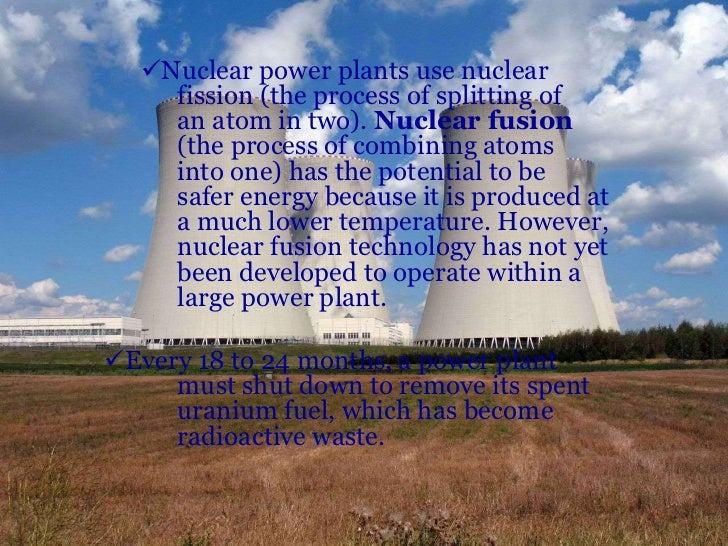 Essay on positive and negative effects of nuclear energy