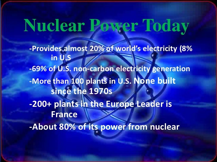 essay on nuclear energy source Success, they continued after world war ii and concentrated more on nuclear energy the scientists instantly saw that nuclear energy would be a great source of power.