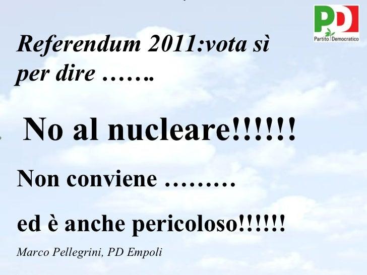Nucleare referendum 2011