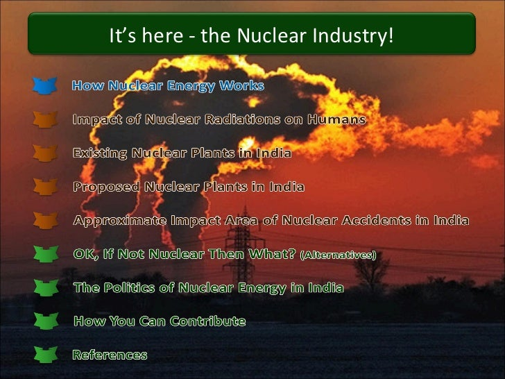 Nuclear power and  india