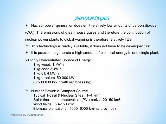 Benefits of nuclear power on socitey?