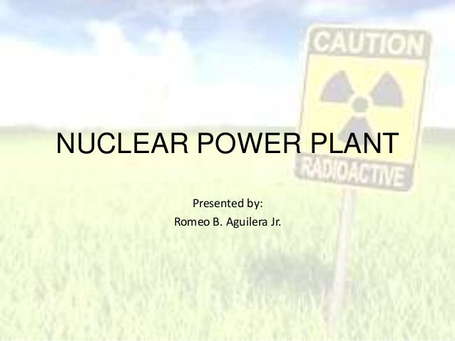 Nuclear power station by Romeo Aguilera Jr.