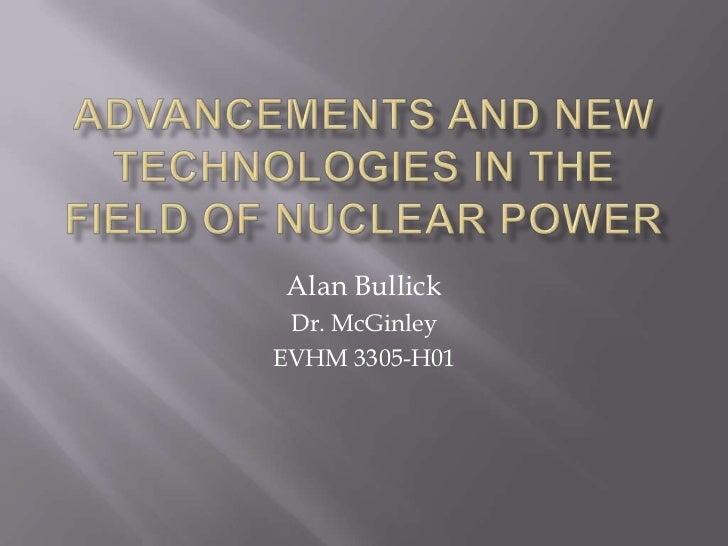 Alan Bullick Dr. McGinleyEVHM 3305-H01
