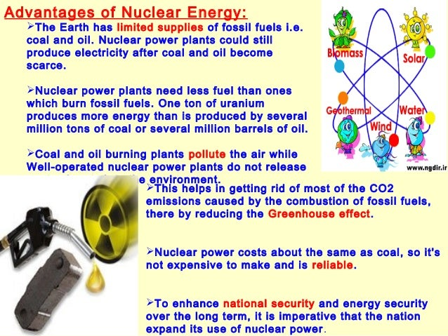 nuclear energy pro cons essay Nuclear energy is one of the sources of electricity although nuclear power is considered a great alternative source of non-renewable electricity producer, it.