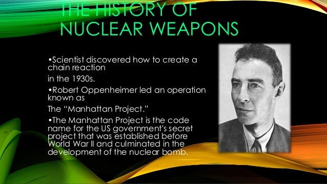 nuclear weapons history Nuclear warfare (sometimes atomic air weapons for the cold war an in depth history of american air weapons and nuclear bombs from.
