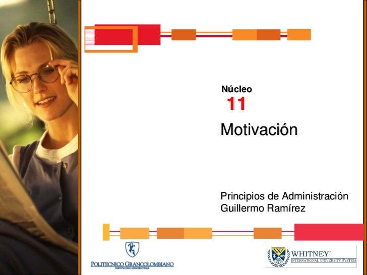 Nucleo11 presentacion