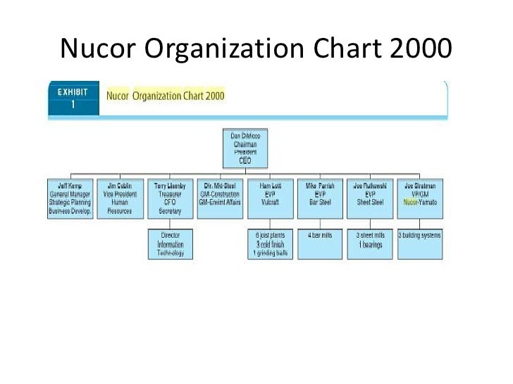 Nucor Strategy Coursework Service