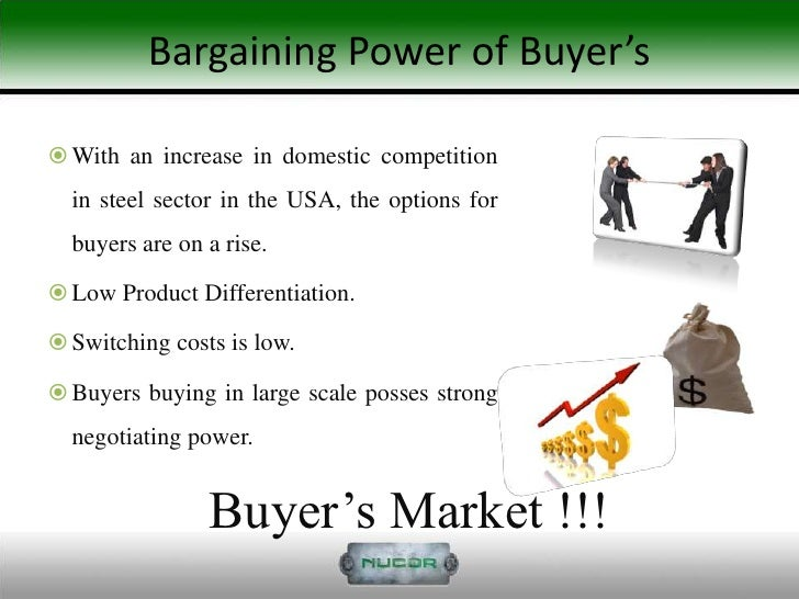 bargaining power of buyers in apple