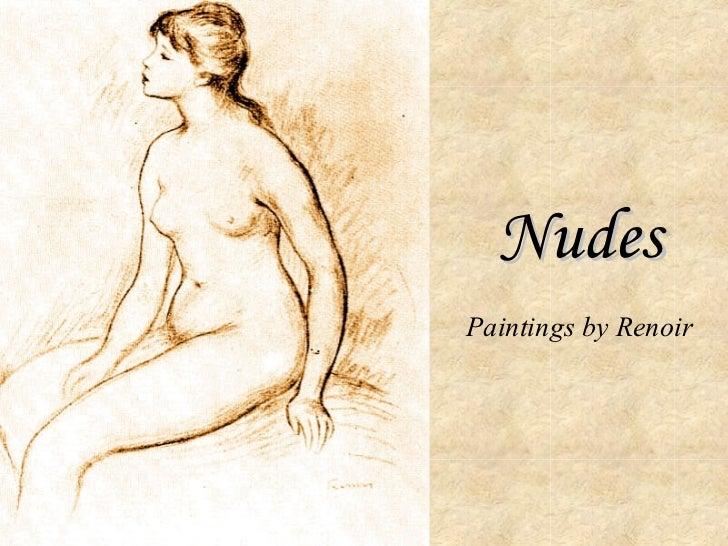 Nudes Paintings by Renoir