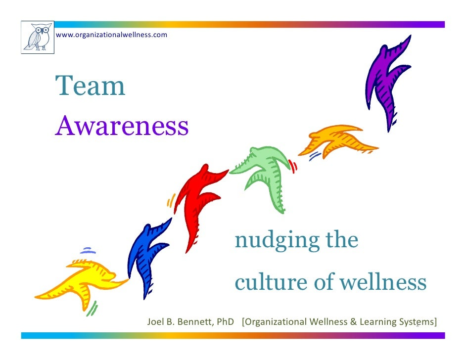 www.organizationalwellness.com     Team Awareness                                              nudging the                ...