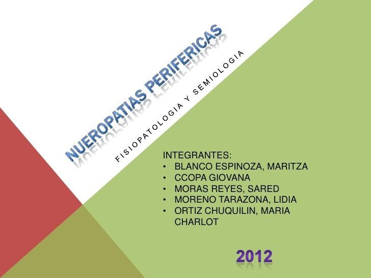 INTEGRANTES:• BLANCO ESPINOZA, MARITZA• CCOPA GIOVANA• MORAS REYES, SARED• MORENO TARAZONA, LIDIA• ORTIZ CHUQUILIN, MARIA ...