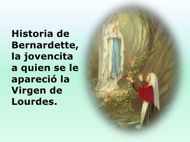 11 De Febrero Nuestra Seora De Lourdes Y Santa | apexwallpapers.com