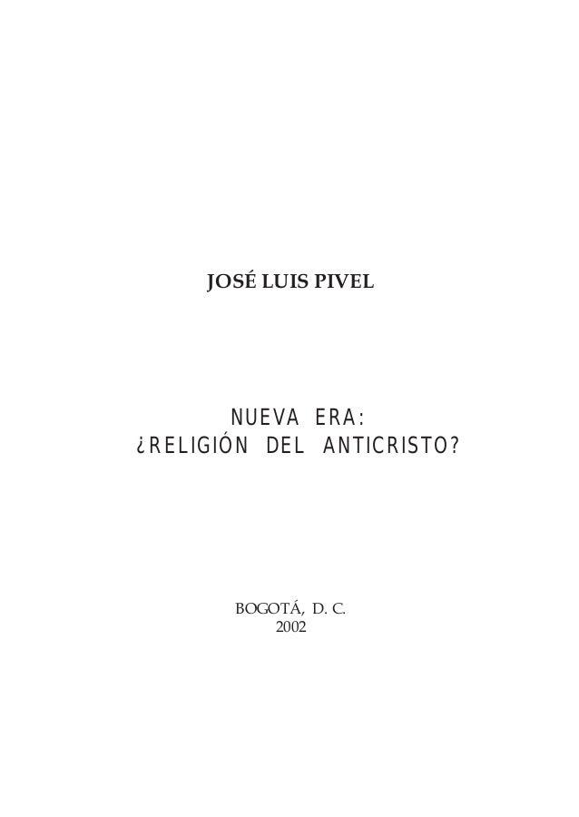Nueva Era_ La Religion del Anticristo