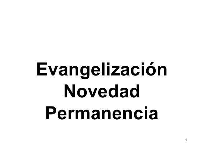 Nueva evangelizacion