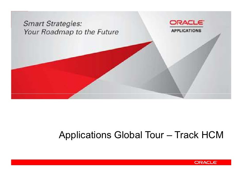 Applications Global Tour – Track HCM