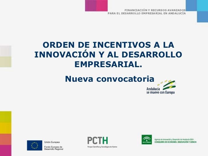 Orden Incentivos Agencia Idea
