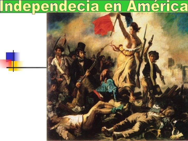 Independecia en América