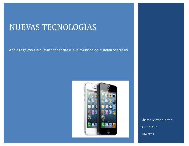 Nuevas  tecnologías