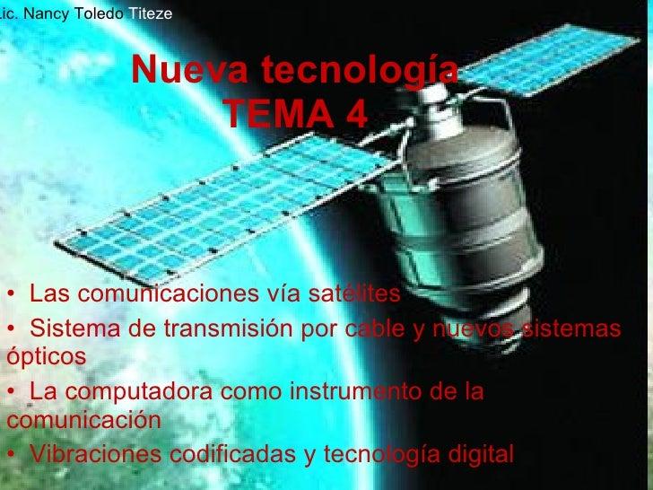 Nueva TecnologíA Tema 4