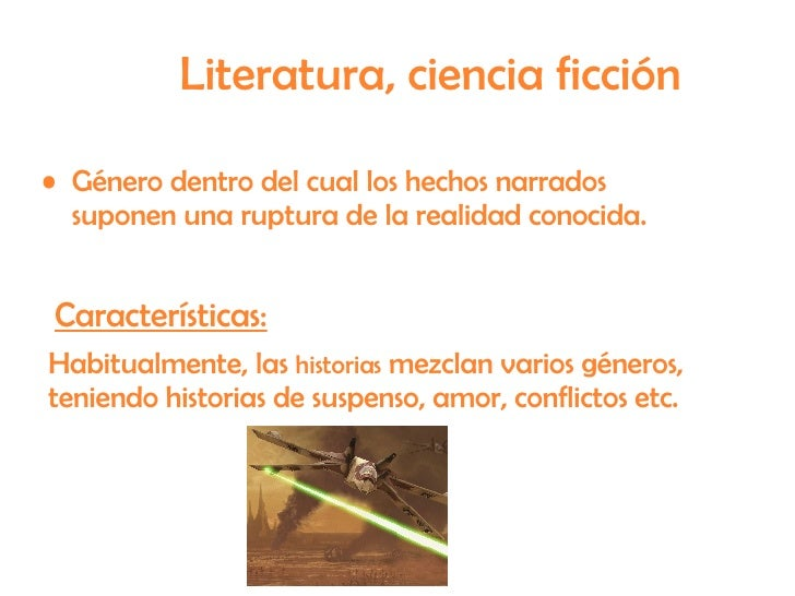genero de ciencia ficcion literatura latina - photo#7