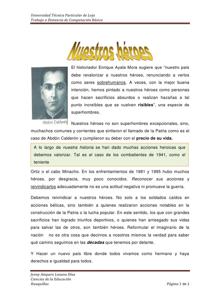 """1524064135El historiador Enrique Ayala Mora sugiere que """"nuestro país debe revalorizar a nuestros héroes, renunciando a ve..."""
