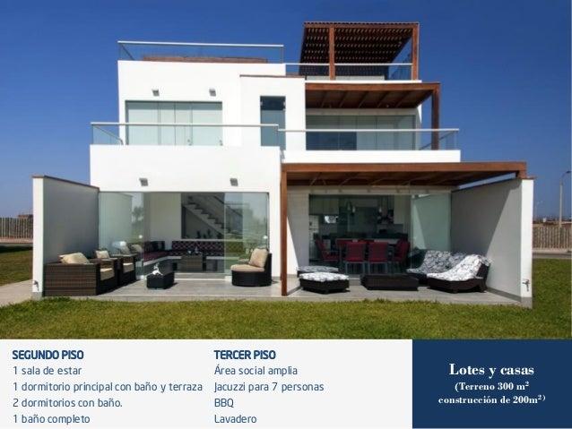 Nuevo paracas condominios n uticos for Terrazas en segundos pisos