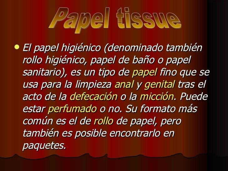 Imagenes De Baño Genital:tipos de papel