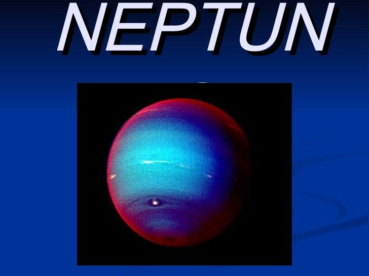 Presentación de NEPTUNO