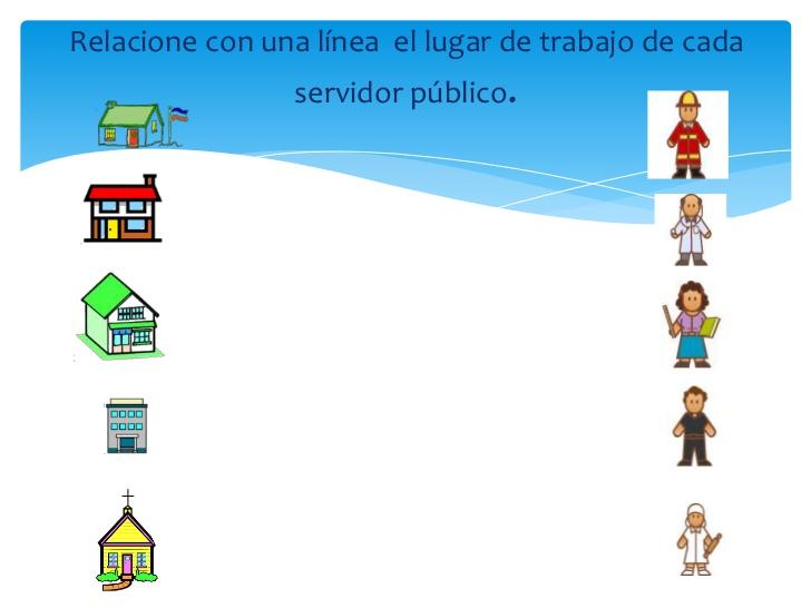 Dibujos De Servidores Publicos