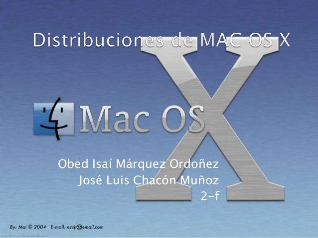 Obed Isaí Márquez OrdoñezJosé Luis Chacón Muñoz2-f