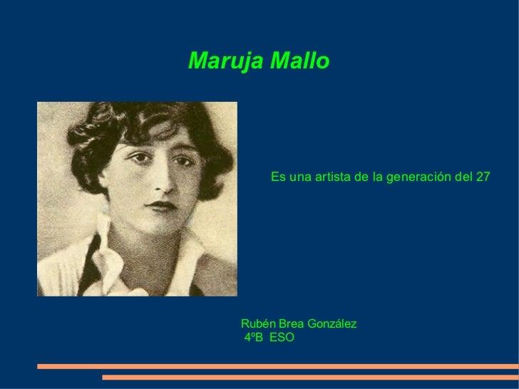 MarujaMallo_touro