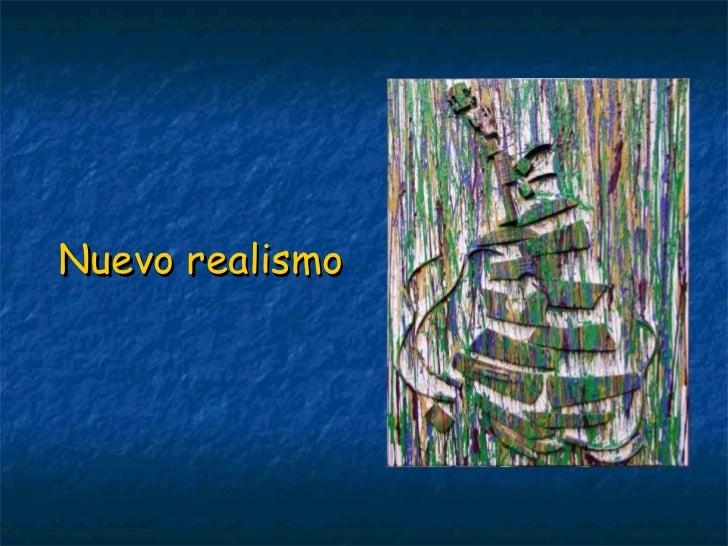 Nuevo realismo