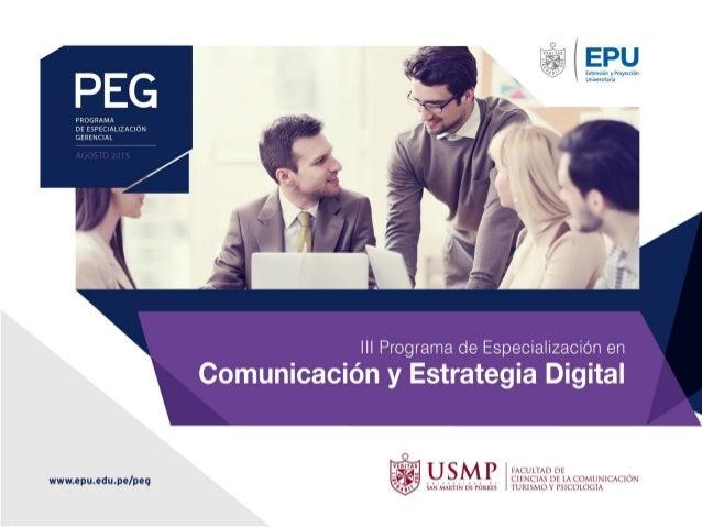 MÓDULO I ECOSISTEMA DIGITAL Y NUEVOS CONSUMIDORES CURSO : NUEVOS CONSUMIDORES Y TENDENCIAS DE LA COMUNICACIÓN DIGITAL DOCE...