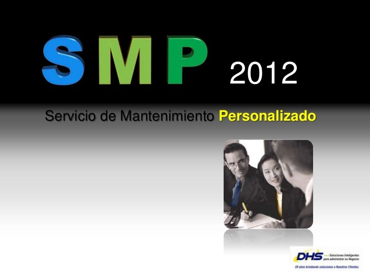 2012           Servicio de Mantenimiento Personalizado                                               YOUR LOGOPage  1
