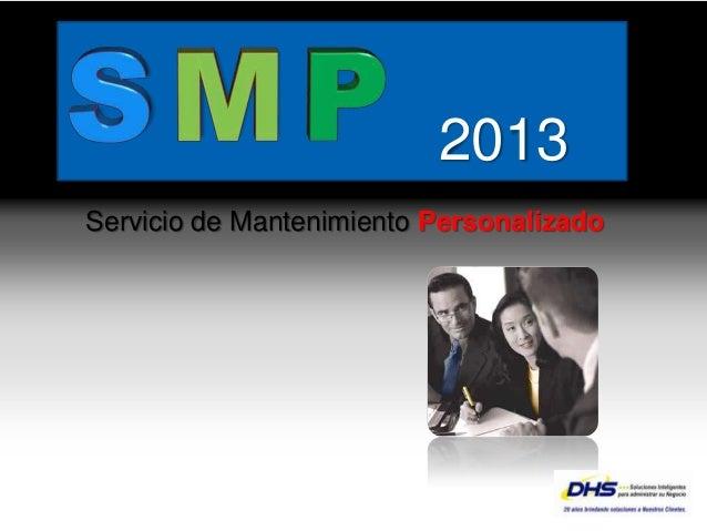 2013           Servicio de Mantenimiento Personalizado                                               YOUR LOGOPage  1