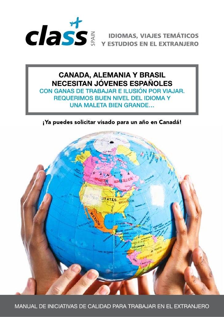 Nuevo trabajo en canada, alemania y brasil 2012