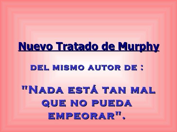 Nuevo tratado de murphy