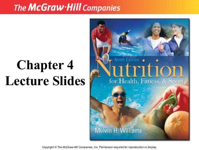 Copyright © The McGraw-Hill Companies, Inc. Permission required for reproduction or display. Chapter 4 Lecture Slides