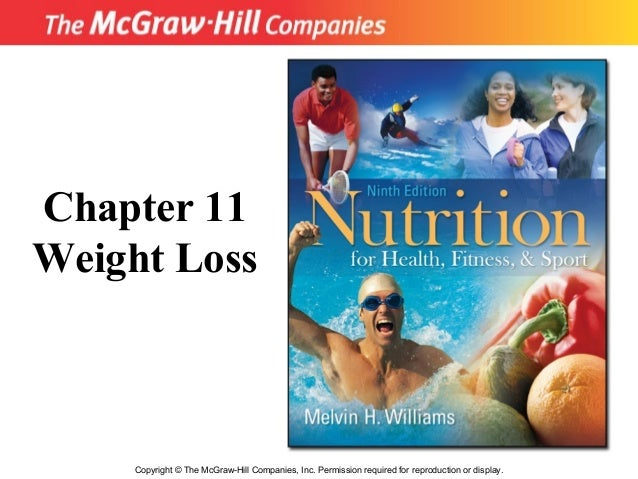 Copyright © The McGraw-Hill Companies, Inc. Permission required for reproduction or display. Chapter 11 Weight Loss