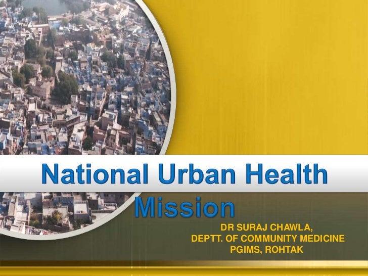 NUHM- Dr. Suraj Chawla