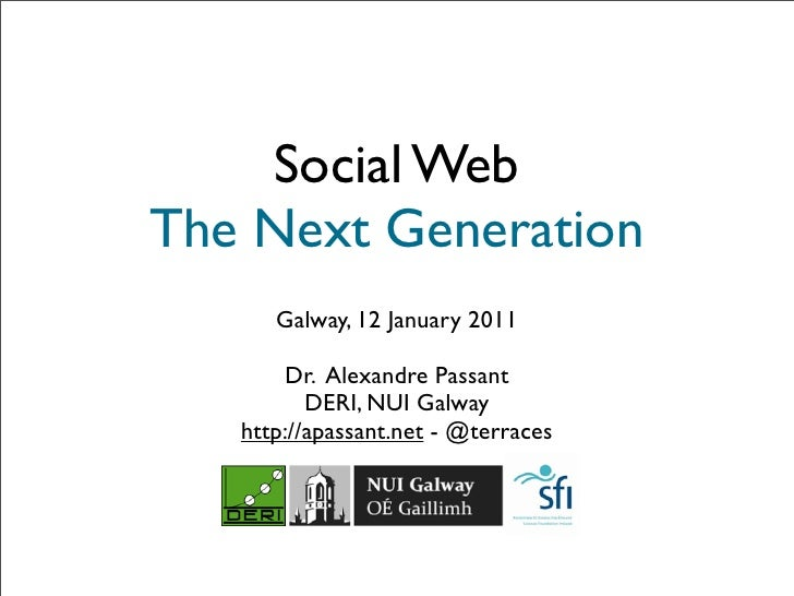 Social Web - The Next Generation