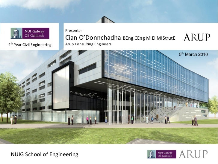 NUIG New Engineering Building Lecture 2