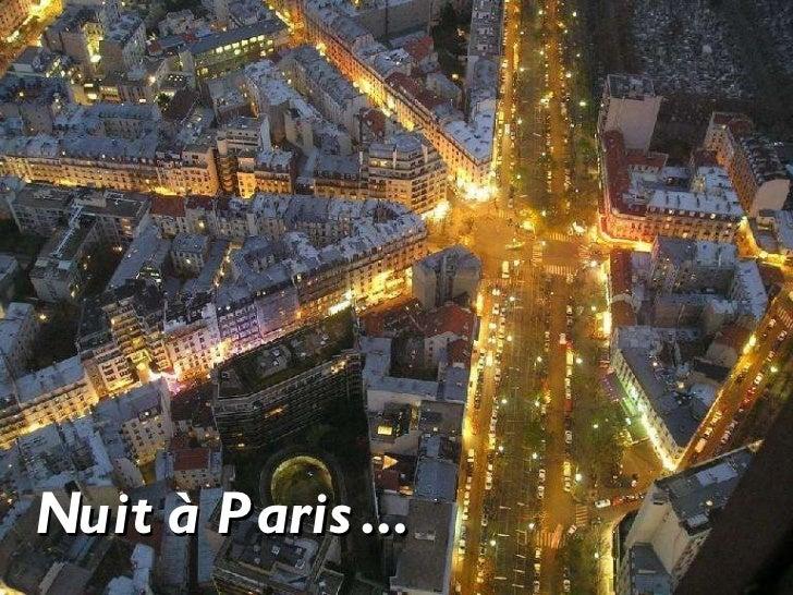 Nuit à Paris...