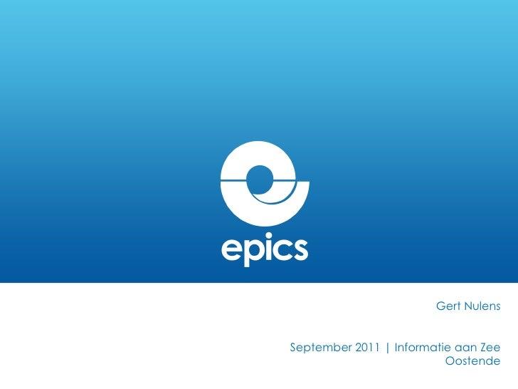 Gert Nulens September 2011 | Informatie aan Zee Oostende