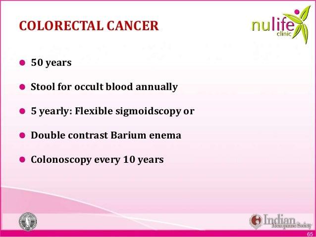 Nulife Module 6 Screening For Malignancies Edited